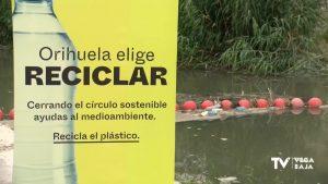Orihuela impulsa el reciclaje de plásticos para evitar que acaben en el río