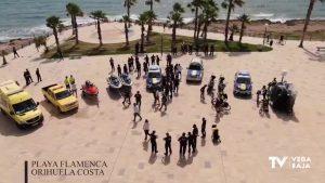 Despliegue de seguridad en las playas de Orihuela Costa con la llegada del verano