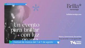 Brilla Torrevieja, el festival que cuenta con Pol Granch, Niña Pastori y Jorge Drexler, entre otros