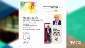 Albatera celebra sus fiestas patronales en honor a Santiago Apóstol con una veintena de actos