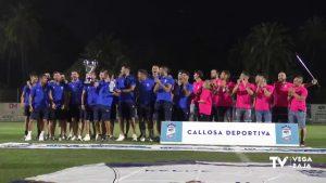 Callosa de Segura celebra por todo lo alto el ascenso de su equipo de fútbol a Tercera División