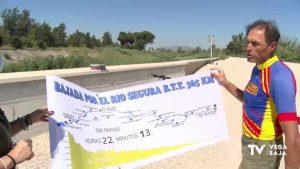 Un vecino de Almoradí completa la bajada del río Segura en 22 horas