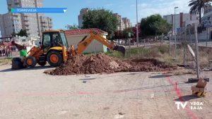 Se inician las obras para construir un parque de calistenia de 2.000 metros cuadrados en Torrevieja