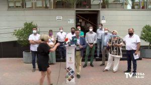 Los socialistas anuncian acciones contra la gestión del Consorcio Vega Baja Sostenible