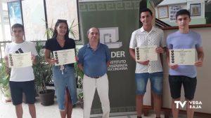Cuatro alumnos del IES Tháder se posicionan 1º de Europa en un concurso matemático internacional