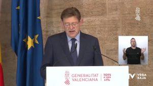 9 de octubre: la fecha que se ha fijado la Comunidad Valenciana para tener vacunada a la población