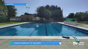 Benferri cierra su piscina municipal tras detectar un caso de COVID-19