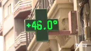 Tórrido lunes en la Vega Baja con más de 40 grados