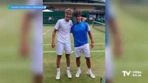 El tenista almoradidense Alejandro Manzanera triunfa en Wimbledon