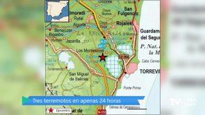 Tres terremotos han sacudido la comarca durante el fin de semana