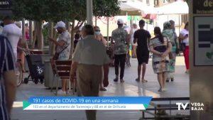 La Vega Baja roza los 200 casos de coronavirus en la última semana