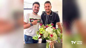 El futbolista Koke visita Torrevieja