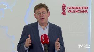Ximo Puig anuncia la vacunación de los veinteañeros pero los de la Vega Baja tendrán que esperar