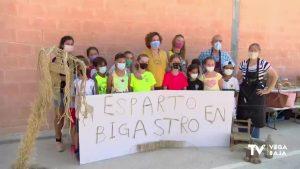 Talleres de esparto en la Escuela de Verano de Bigastro