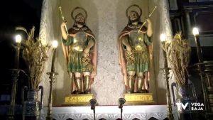 """Almoradí, fiel devota a """"Los Santicos de la Piedra"""", San Abdón y San Senén"""
