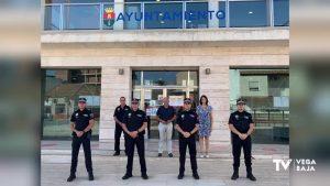 La Policía Local de Pilar de la Horadada refuerza el verano con 4 agentes