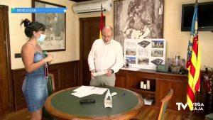 El alcalde de Benejúzar aclara que el asfaltado estaba descartado desde un principio