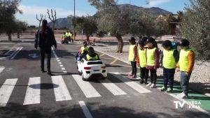 """El colegio público de Hurchillo presenta la campaña de educación vial """"Conduce para vivir"""""""