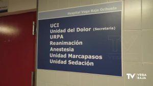 Los ingresos por Covid en el Hospital Vega Baja disminuyen en esta quinta ola