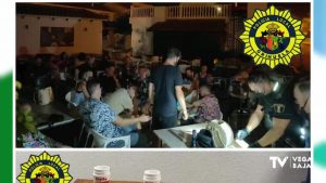 La Policía Local de Orihuela desmantela una fiesta ilegal en un local de Orihuela Costa