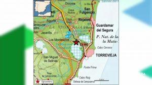 Terremoto de magnitud 1,8 en la laguna salada de Torrevieja