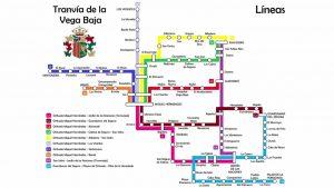 Así sería el tranvía de la Vega Baja según un joven oriolano