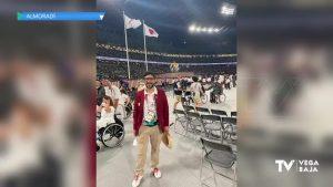 El almoradidense Raúl Reina, en los Juegos Paralímpicos de Tokio