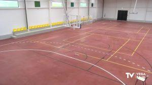 Finalizan las obras del nuevo pabellón deportivo cubierto de Benejúzar