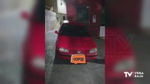La Policía Local de Callosa multa a un conductor con 900 euros y la pérdida de 10 puntos del carné