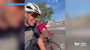 De Málaga a La Aparecida en bicicleta por un reto solidario