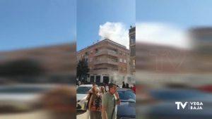 Un agente de Policía Local de Pilar de la Horadada resulta herido en el incendio de un restaurante