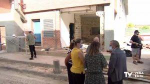 El secretario autonómico de Educación visita las obras del colegio Antonio Sequeros de Benejúzar
