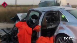Accidente en Pinoso: una furgoneta y un turismo chocan de frente y dejan dos fallecidos