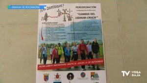 Comienza en Granja de Rocamora la nueva peregrinación a Caravaca de la Cruz