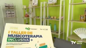 ADIS pone en marcha en Benejúzar el primer taller de musicoterapia inclusiva de la Vega Baja