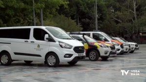 Policía Local, Protección Civil, Emergencias, Limpieza Viaria y RSU tienen nuevos vehículos