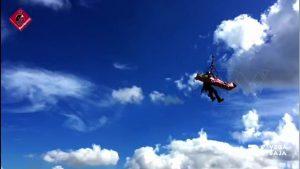 Un escalador portugués, rescatado en helicóptero tras resbalar en la vía ferrata de Callosa