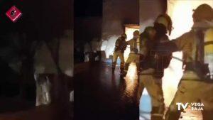 Una mujer de 80 años, atendida por crisis de ansiedad tras declararse un incendio en La Murada