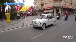 Los vehículos clásicos toman el casco urbano de Pilar de la Horadada