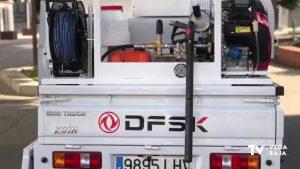 Cox incorpora a su servicio de limpieza un nuevo vehículo ecológico