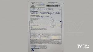La Policía Local de San Fulgencio multa con 380 euros a un vecino por depositar residuos en la calle