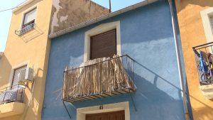 Un hombre queda herido al derrumbarse parte de la vivienda en Orihuela
