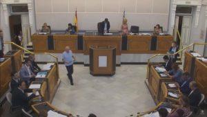 La Diputación aprueba por unanimidad que las CCVV y el Congreso investiguen la gestión de la CHS