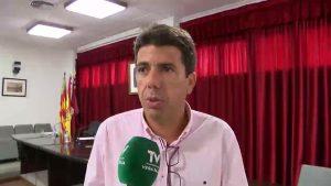 Carlos Mazón se reafirma: «contribuiremos para hacer frente a los gastos jurídicos»