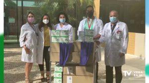 El Hospital Universitario de Torrevieja envía material sanitario a Cuba