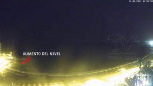 Un meteotsunami golpea la costa de Torrevieja y Guardamar sin mayores consecuencias