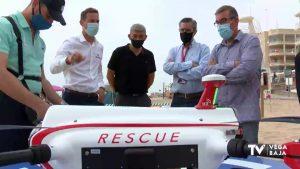 Guardamar activa los drones que apoyarán la labor de rescate en sus playas